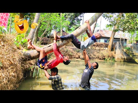 Comedy Video 2020 | You Must Be Laugh | Top Funny Video Ep12 _Famous Emon