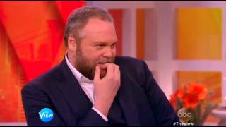 Vincent D'Onofrio on The View Mar 11th, 2015 streaming