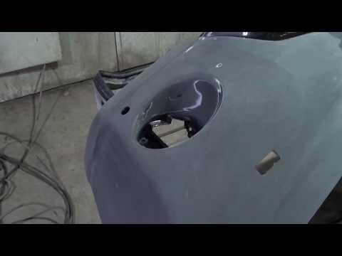 Toyota Land Cruiser Prado 150. Ремонт переднего бампера