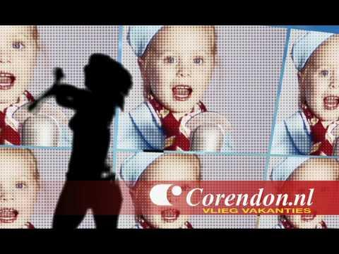 """Corendon Vliegvakanties TV reclame """"Vakantie Vakantie"""" RTL4 Zomerversie 2010"""