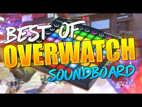 Best of Overwatch Soundboard Trolling - Funny Moments (100K Sub Special!)