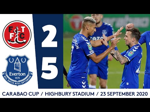 Fleetwood Town Everton Goals And Highlights