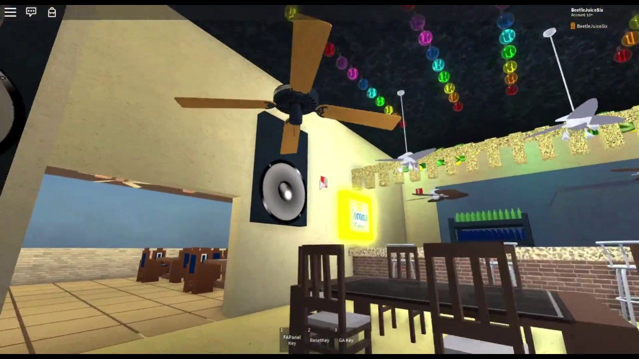 Roblox Ceiling Fans At El Sixto Upgraded Youtube
