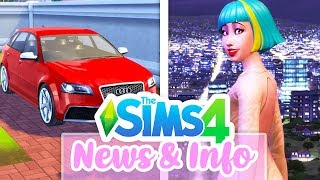 CARS, FAMOUS CHILDREN, NEW WORLD INFO // THE SIMS 4 GET FAMOUS⭐🎥   NEWS & INFO