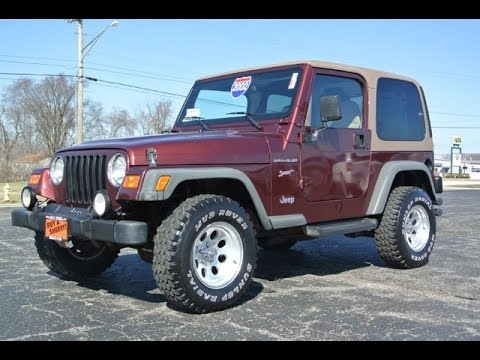 Charming 2002 Jeep Wrangler Sport For Sale Dayton Troy Piqua Sidney Ohio | 27162AT