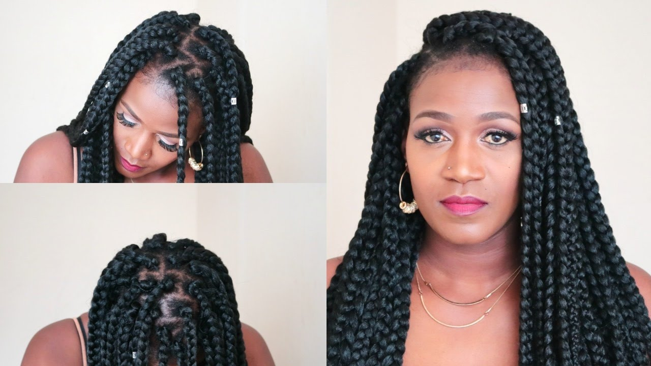 Individual Crochet Box Braids In Less Than 2 Hours - YouTube
