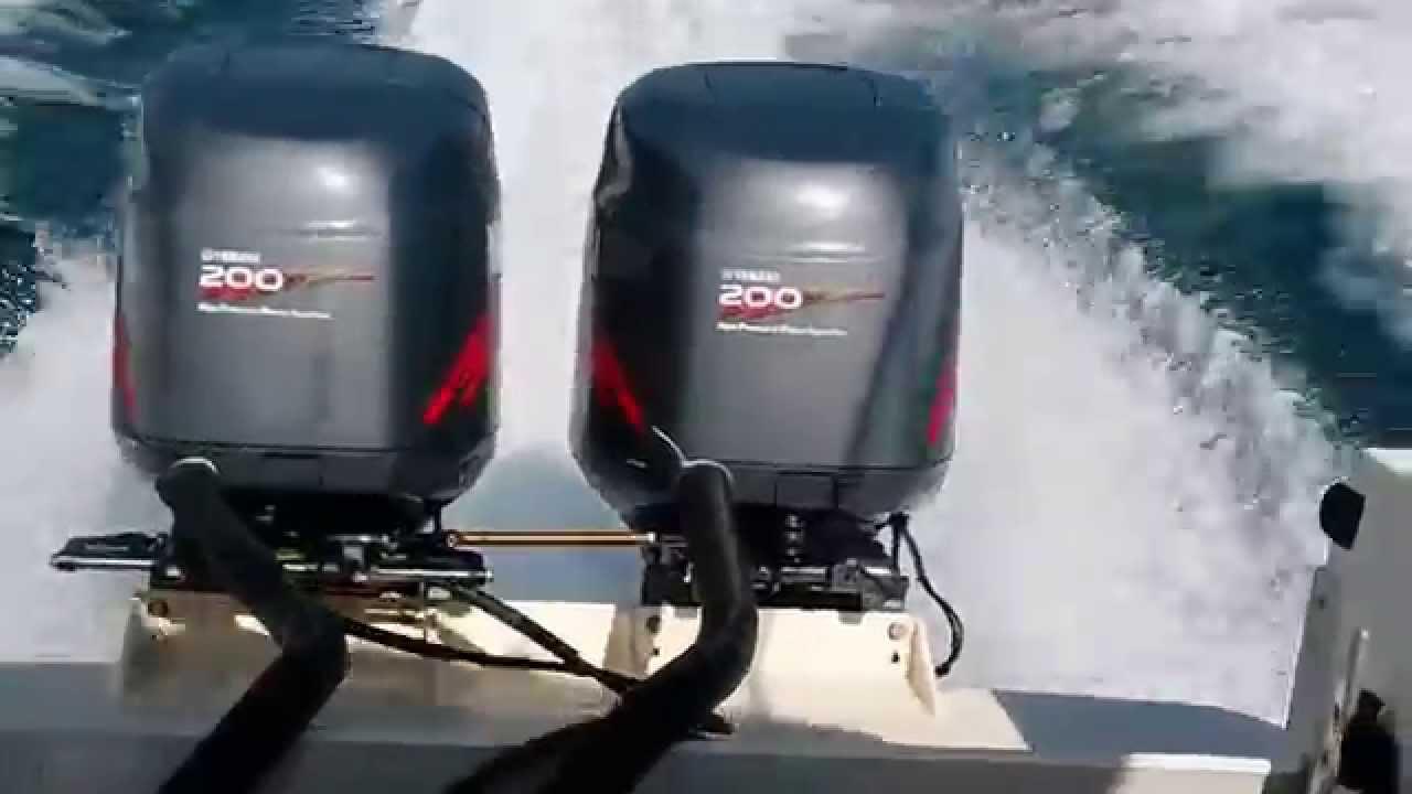 2001 yamaha twin 200 engines 2 stroke youtube for Yamaha 200 outboard 2 stroke