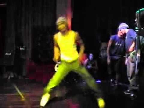 Viaje a Las Vegas, actuación en Casino Palms y entrenamientos 12/06/03