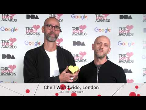 Cheil Worldwide, London Declaration of Lovie at The 6th Annual Lovie Awards 2016