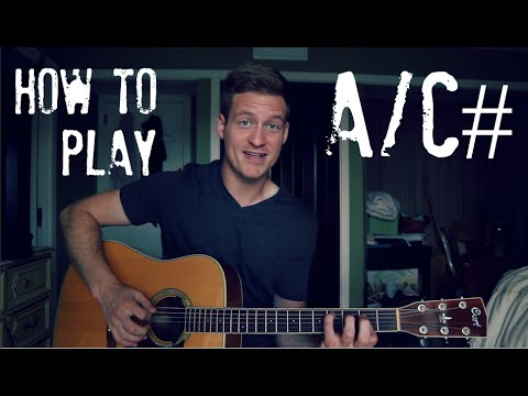 A/C# // EASY Guitar Chord Tutorial! - YouTube