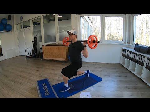 Trainingsplan #7 Langhantel (Heimtraining)