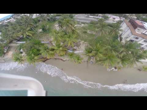 erosion playa cabarete