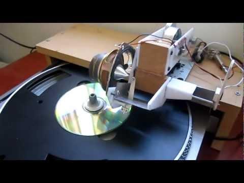 Home built mechanical sound recorder