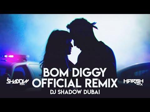 Bom Diggy | DJ Shadow Dubai | Official Remix | Zack Knight X Jasmin Walia| Harsh GFX | Saavn