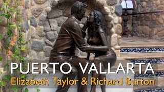 """Elizabeth Taylor & Richard Burton"" by Christina and Jim Demetro, Puerto Vallarta"