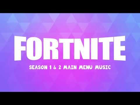 Fortnite - Main Menu   Season 1 & 2