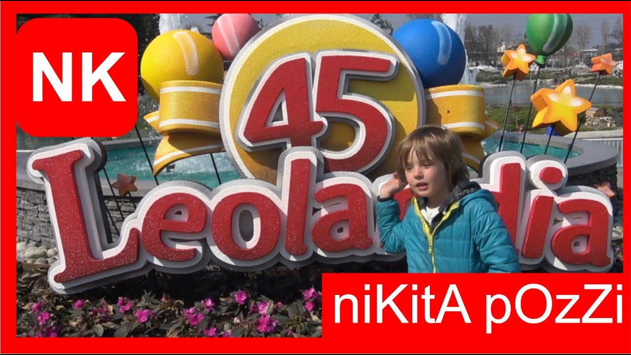 vlog parco leolandia giostre per bambini minitalia by