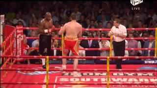 Тони Томпсон против Дэвида Прайса (реванш)