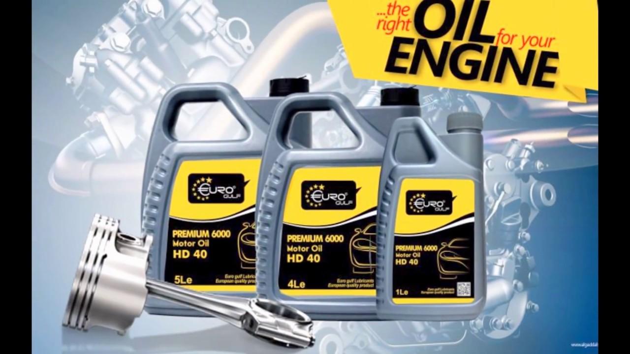 Euro Gulf World Class Engine Oil UAE