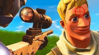 Hunting Noobs In Fortnite...