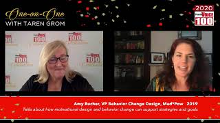 Amy Bucher, Mad*Pow – 2020 PharmaVOICE 100 Celebration