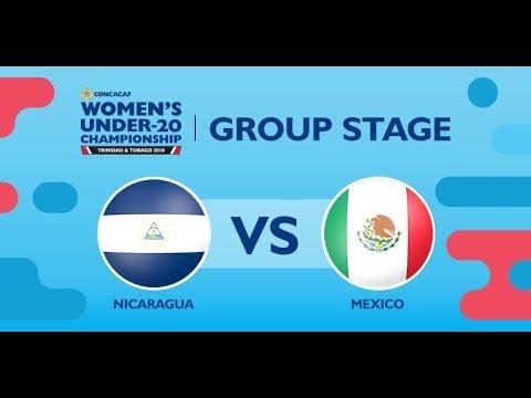CU20W: Nicaragua vs. Mexico