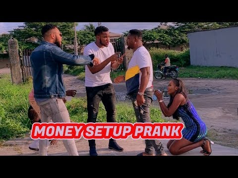 MONEY SET UP PRANK