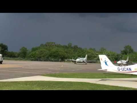 Flying Lesson at Blackbushe Airfield