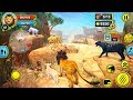 Lion Family Sim Online - Android Gameplay FHD