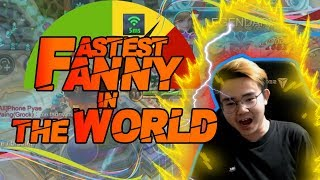 FASTEST FANNY IN THE WORLD with 5 MS WIFI PING!!