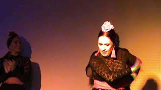 Шоу Фламенко в отеле California Garden г. Салоу 2019 сентябрь.