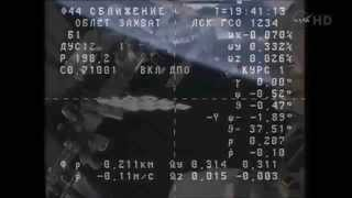 ISS Expedition 42 - Progress M-26 (M58) Docks With The Space Station