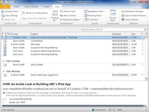 how to disable add in outlook 2010
