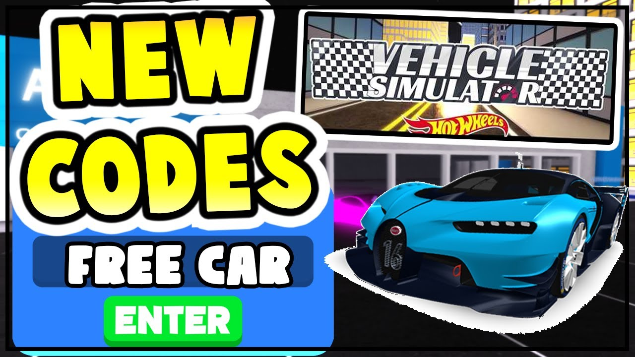 New Vehicle Simulator Codes Free Op Cars All Vehicle Simulator Codes Roblox 2020 Youtube
