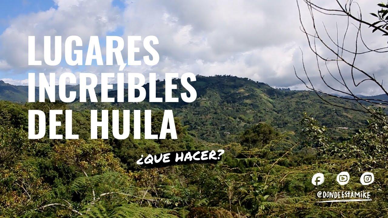 Lugares increibles del HUILA / San Agustin y el Estrecho del Magdalena