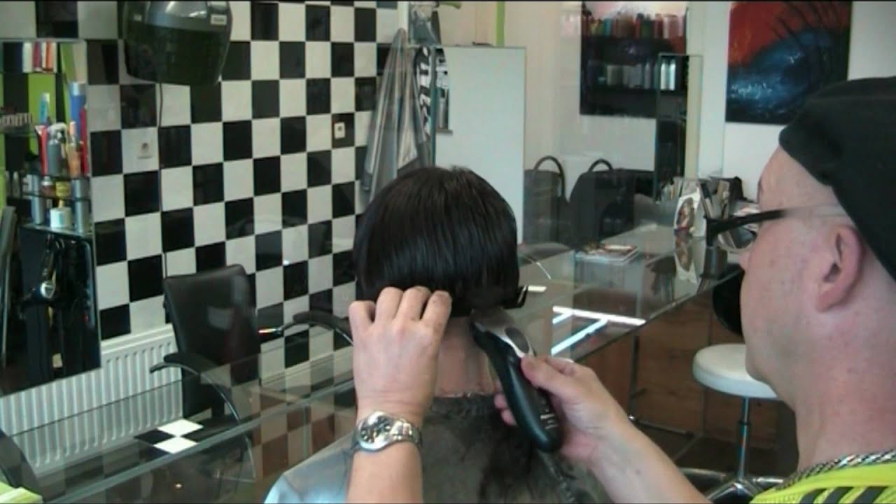 Dl Ultra Short Extreem Bob Haircut Clipper Scissor Technic By Theo