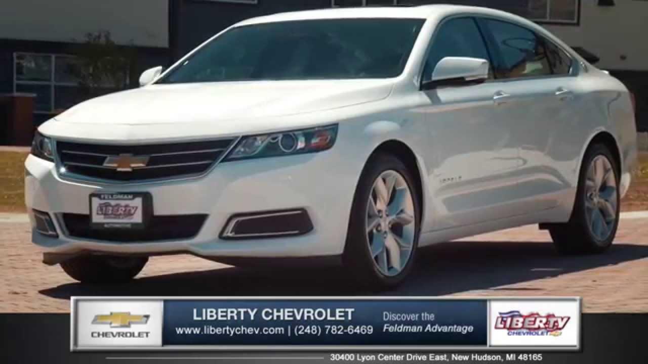 2015 Chevy Impala Dominates The New Ford Taurus Near New Hudson, Michigan    YouTube