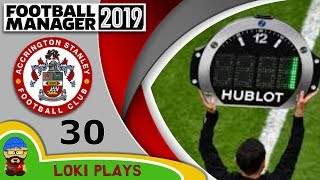 Football Manager 2019 - Episode 30 - Injury Time - The Stanley Parable - FM19