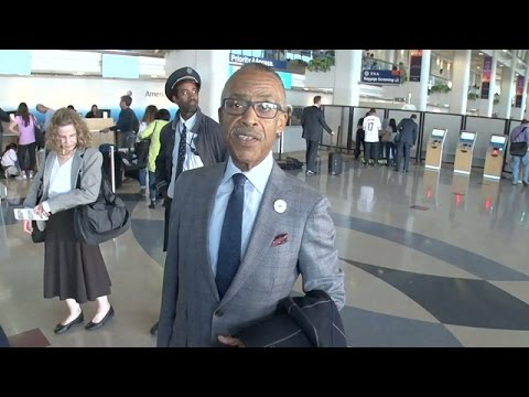 Al Sharpton Holds Forth On Everything From ISIS To Dieting Secrets
