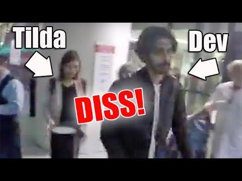 Dev Patel Pretends Like He Isn't Even WITH Girlfriend Tilda CobhamHervey!!!