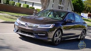 2017 Honda Accord - Review and Road Test(The Honda Accord not only continually sets the benchmark for all other family sedans, it has one of the most loyal followings in the industry. So, does the ..., 2015-11-23T11:00:01.000Z)