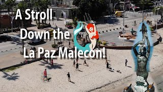 A stroll along the Malecon in La Paz
