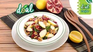 Doal Armutlu Ispanak Salatası