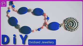 Designer Beads Necklace with Dori | Easy Jewellery making Tutorial For Beginners | DIY Necklcace