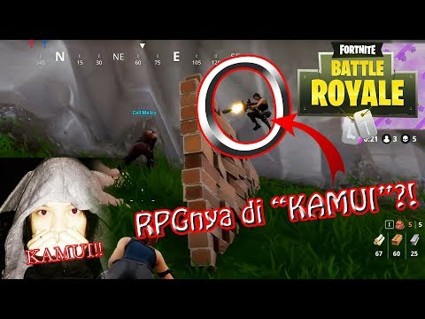 2x MENANG DI CARRY AMA CEWE !!! - Fortnite Battle Royale Indonesia