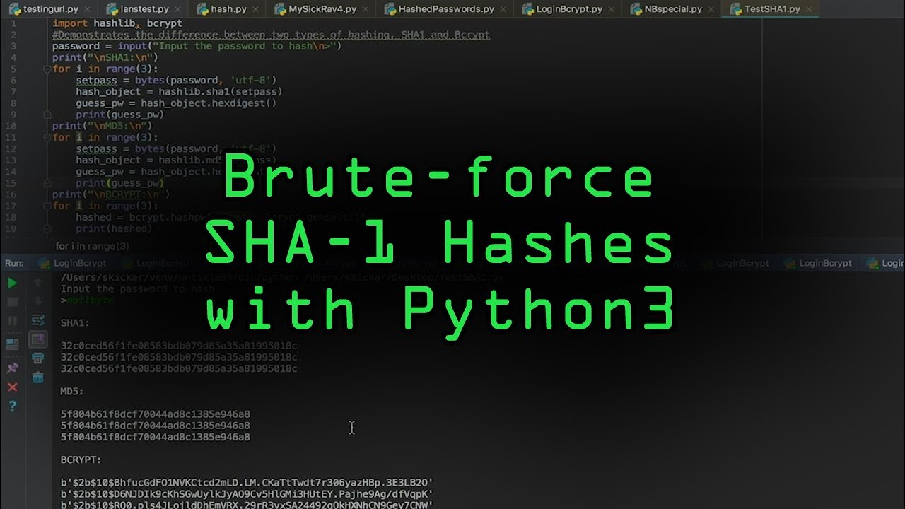 How to Use Beginner Python to Build a Brute-Force Tool for SHA-1