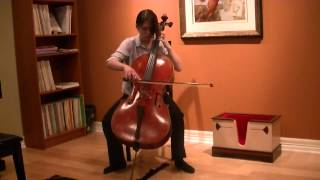 Marcello Adagio and Allegro for Cello