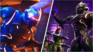 Risky Reels' DARK Secret FINALLY REVEALED! - (ROBOT ARMY INVASION in FORTNITE - TAKE COVER!!)