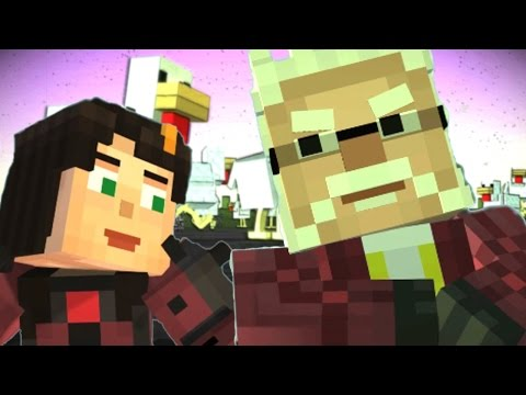 HADRIAN IS ALIVE - ENDING !?! - Minecraft Story Mode EP8 P3