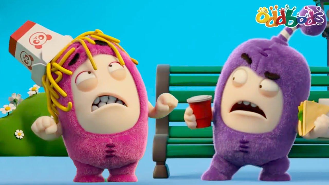 Oddbods | NEW | PARANOIA | Funny Cartoons For Kids